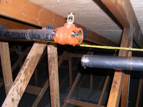 Fire Suppression Pipe : Flood of